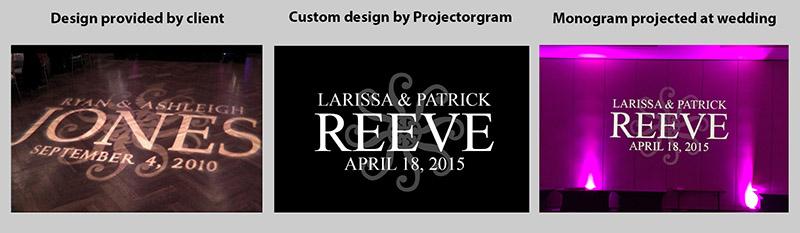 Projectorgram Custom Design Example 3
